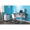 Interface Contemporary Writing Desk - Pure White