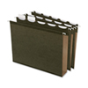 Esselte Extra Capacity Box Bottom Hanging File Folder (ESS42701) - Letter - 20 Pieces - Green