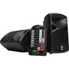 Système de sonorisation de scène portatif de 400 watts de Yamaha (STAGEPAS400I) - Noir