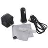 Insignia Lightning Car/Wall/Cleaning Charging Kit (NS-TKITA5-C) - Black