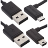 Insignia 1.2m (4 ft.) Mini & Micro USB Cable (NS-GMMC01-C) - Black