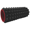 "Iron Body Fitness Acupoint Foam Roller - 12"" - Black/Red"