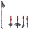 World Famous Rockwater Nordic Walking Pole - 60 cm to 130 cm - Red
