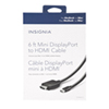 Insignia 1.8 m (6 ft.) MiniDP/HDMI Cable (NS-PD06512-C)