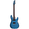 Schecter C-6 Series Electric Guitar (C-6-DELUXE-SMLB) - Satin Metallic Light Blue