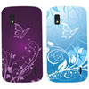 Exian Nexus 4 Fitted Hard Shell Case - Blue/Purple