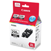 Canon PGI-250XL Black Ink (6432B010) - 2 Pack
