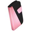 Exian Samsung Ace 2x Flip Wallet Case - Pink / Black