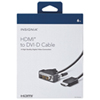 Insignia 1.8m (6 ft) HDMI to DVI Cable (NS-PI06502-C)