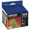 Epson DURABrite Ultra 252 CMYK Ink (T252120-BCS) - 4 Pack