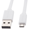 Insignia 1.2m (4 ft.) Flat USB 2.0 to MicroUSB Cable (NS-TMCDT2WF-C)
