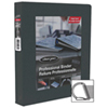 "Wilson Jones Single Touch 4"" D-Ring Binder With Pocket Guards (WLJ50078) - Black"