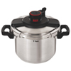 T-Fal 6L Clipso Pressure Cooker (P4500732) - Stainless Steel