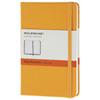 Carnet ligné avec pochette de 3,5 x 5,5 po de Moleskine - Orange