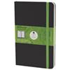 """Moleskine 5""""x8.25"""" Evernote Smart Ruled Notebook - Black - English"""