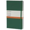 Grand cahier à papier ligné 5 x 8,25 po de Moleskine - Vert