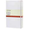 "Moleskine 5""x8.25"" Large Ruled Notebook - White"