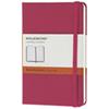 "Moleskine 3.5"" x 5.5"" Ruled Notebook - Magenta"
