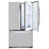Réfrigérateur à 2 portes 24,8 pi3 32,75 po de LG - (LFCS25663S) Acier inoxydable