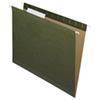 Dossiers suspendus de Nature Saver - 8,5 x 11 po - Paquet de 25 - Vert (NAT08651)