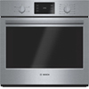 "Bosch 29"" 4.6 Cu. Ft. Easy Clean Thermal Wall Oven (HBL5351UC) - Stainless Steel"
