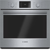 "Bosch 29"" 4.6 Cu. Ft. Easy Clean True Convection Wall Oven (HBL5451UC) - Stainless Steel"