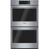 """Bosch 29"""" 2 x 4.6 Cu. Ft. True Convection Electric Double Wall Oven (HBL8651UC) - Stainless Steel"""