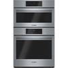 Four micro-ondes combiné cuisson rapide facile à nettoyer 30 po 4,6 pi3 de Bosch (HBL8751UC) - Inox.