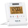 Marathon Travel Alarm Clock (CL030036WH) - White