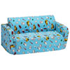 Comfy Kids - Polyester Kids Flip Sofa - Blue Boy Stuff