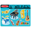 Melissa & Doug Musical Instruments Sound Puzzle - 8 Pieces - NOT SOLD SEPARATELY