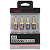 Rocketfish Banana Plug (RF-G1190-C) - 4 Pack