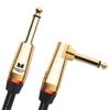 Câble d'instrument de 3,7 m (12 pi) angle vers droit 1/4 po Rock de Monster (M ROCK2-12A WW)