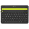 Logitech Bluetooth Multi-Device Keyboard (K480) - Black