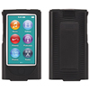Griffon iPod Nano (7th Gen) Fitted Hard Shell Case & Clip - Black