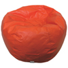 Modern Vinyl Bean Bag Chair - Orange (96013-040)