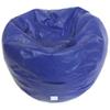 Fauteuil poire moderne en vinyle - Bleu (96013-081)