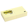 Notes Post-it autocollantes - Paquet de 6 - Jaune