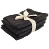 Shoo-Foo Bamboo Charcoal Spa Towel Set (BATHMIT4-COAL) - Charcoal Grey