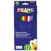 Dixon Prang 3.3mm Coloured Pencils - 12 Pack - Assorted Colours