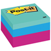 Cube de mini feuillets Post-it - Couleurs vives