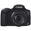 Appareil photo numérique PowerShot SX60 Wi-Fi 16,1 Mpx et zoom optique 65X de Canon - Noir