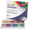 Pentel Arts Oil Pastels - 36 Pack - Assorted Colours