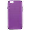 Étui-coque souple ajusté d'Affinity pour iPhone 6 - Prune