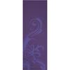 Gaiam Deep Plum Surf Yoga Mat (LAP-MT-61490F) - Purple