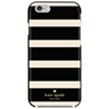 kate spade new york Kinetic Stripe iPhone 6/6s Fitted Hard Shell Case - Black/Cream - Exclusive Pattern