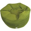 Contemporary Round Bean Bag Chair - Green
