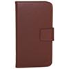 Vetta Galaxy S5 Leather Folio Case - Brown