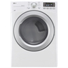 LG 7.4 Cu. Ft. Electric Dryer (DLE3170W) - White