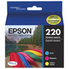 Epson DURABrite Ultra T220 Colour Ink (T220520-S) - 3 Pack